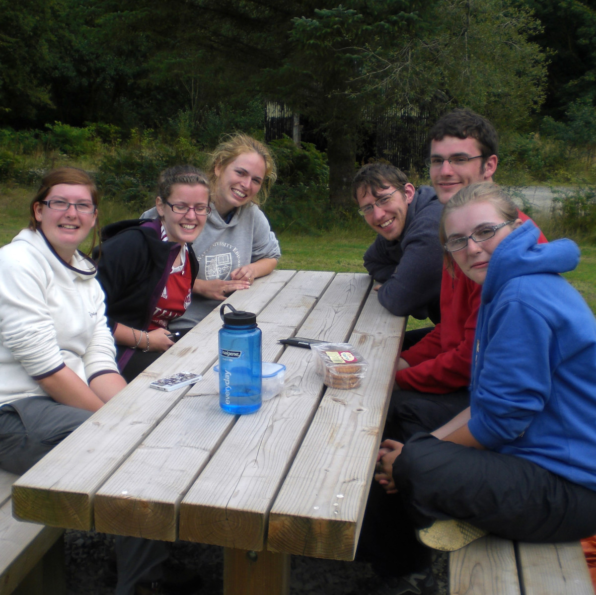 Network Scouts on Gold DofE expedition