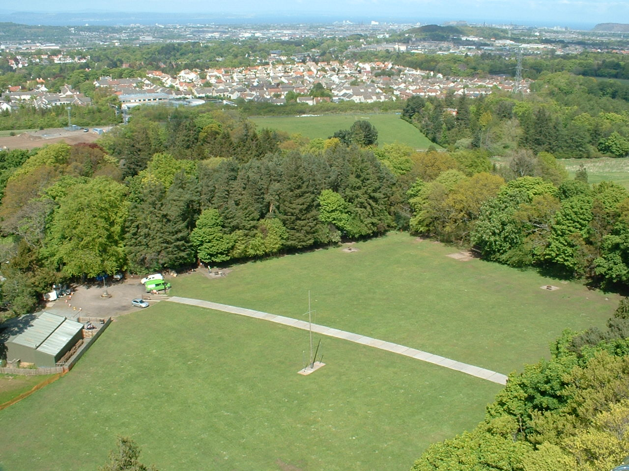 Bonaly site and the city