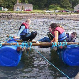 Rafting at Longcraig
