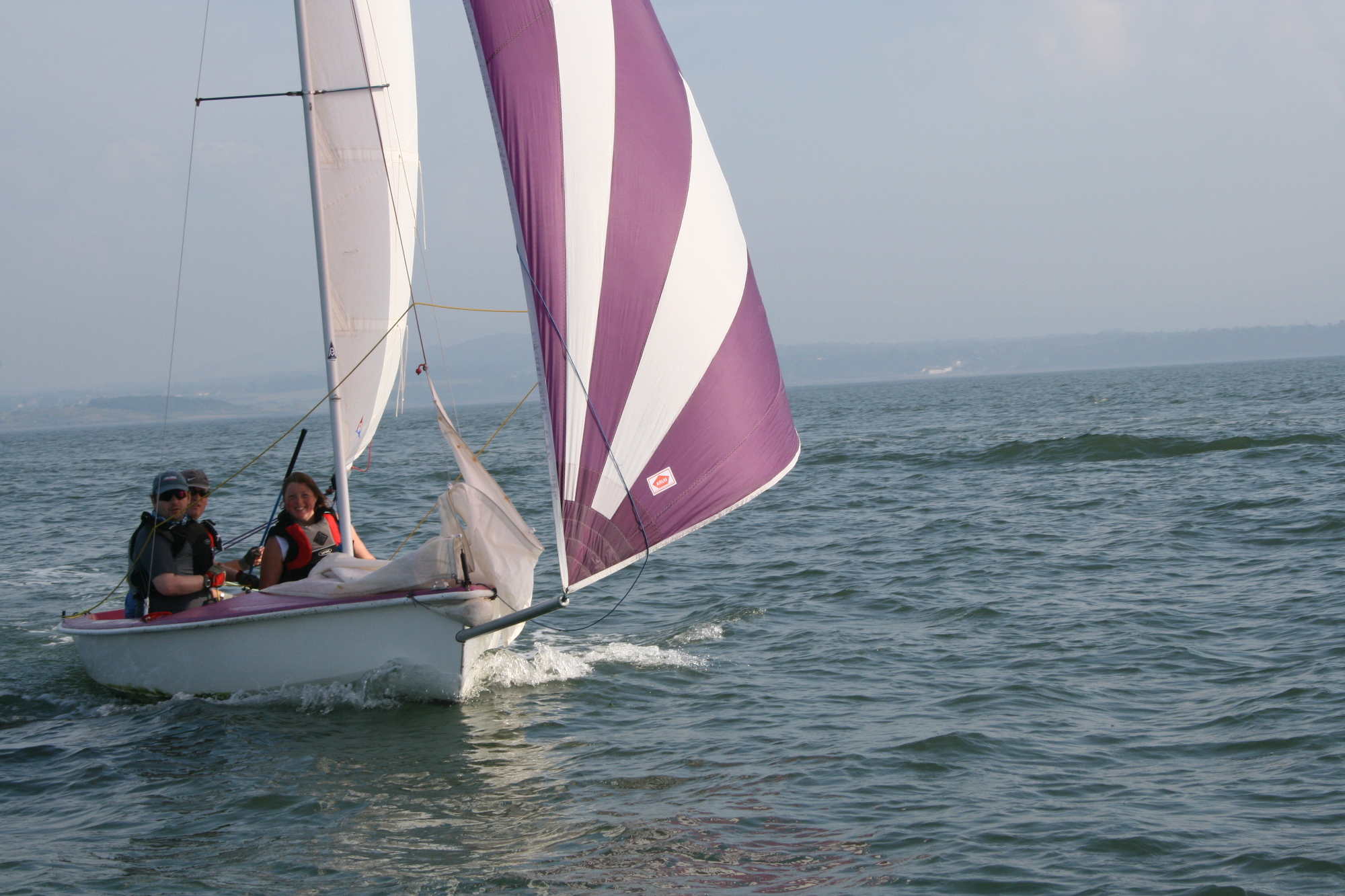 Sailing at Longcraig