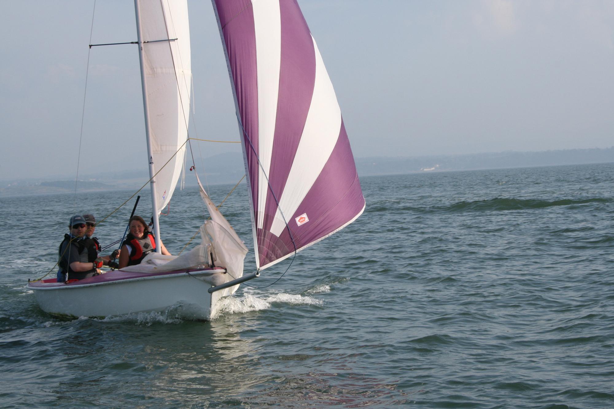Sailing at Longcraig