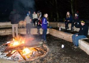 Midlothian Explorers Brass Monkey Camp Jan 2015