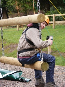 The Jacob's Ladder at our Bonaly Activity Centre.