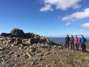 Gorebridge Explorers in the Cairngorms