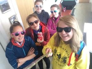 Gorebridge Explorers enjoying weekend in Cairngorms