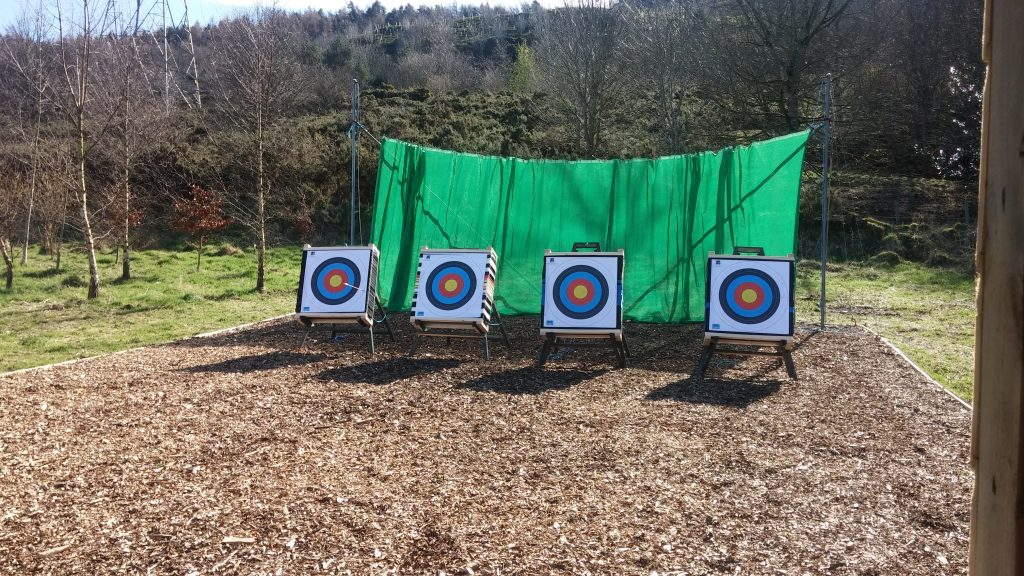 The newly refreshed Bonaly Archery Range