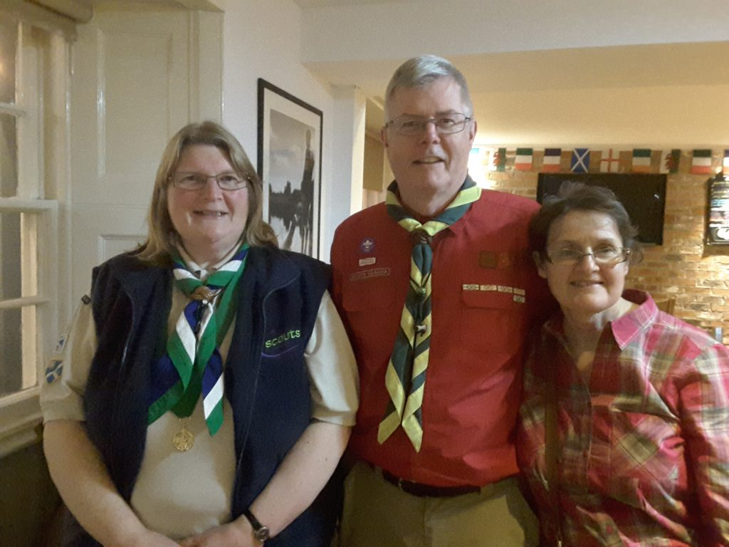 Canadian Scouters and Elizabeth McIntosh
