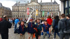 Group in Amsterdam