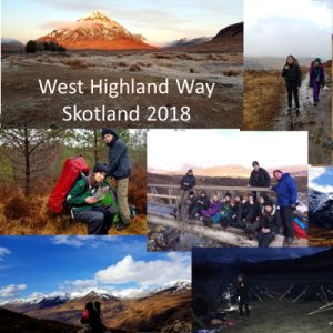 Danish Explorers do West Highland Way