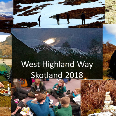 Danish Scouts on West Highland Way