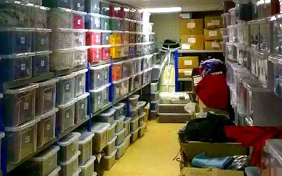 Storage required for Edinburgh Gang Show