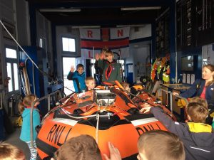 North Berwick Scouts at RNLI