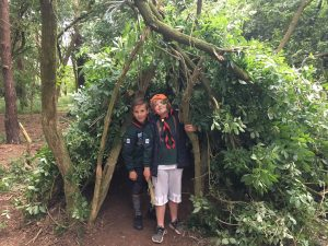 North Berwick Cubs Building Dens